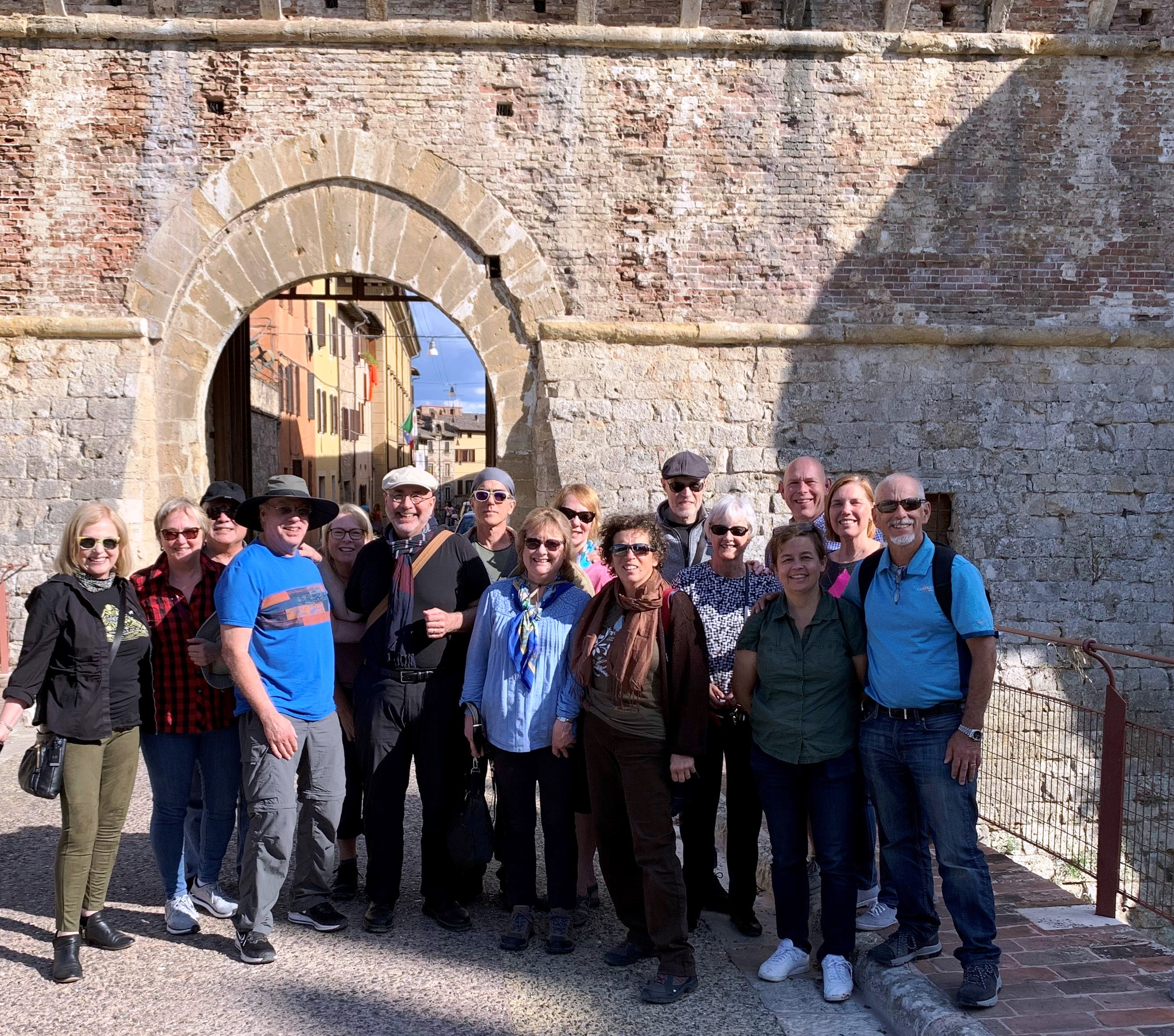 This is our group this past Tour to Tuscany